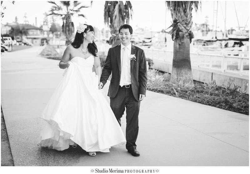 coronado community center wedding photography, coronado wedding