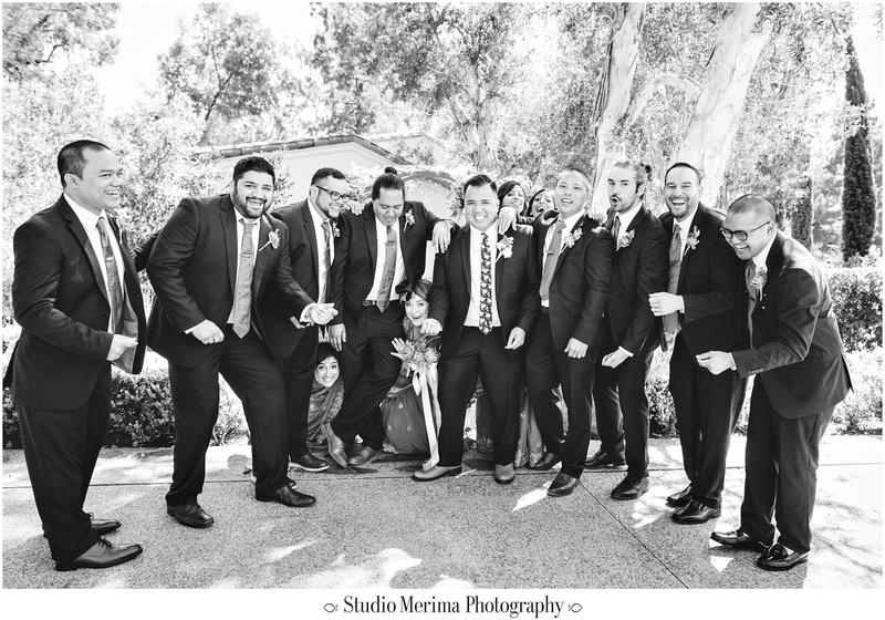 """indian wedding"", ""filipino wedding"", ""san diego wedding photographer"", ""studio merima"", ""rancho bernardo inn wedding"", ""fun bridal party photos"""