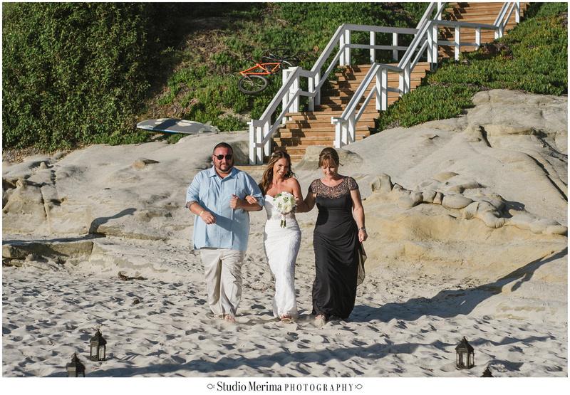 la jolla wedding photography, windansea small wedding, windansea ceremony