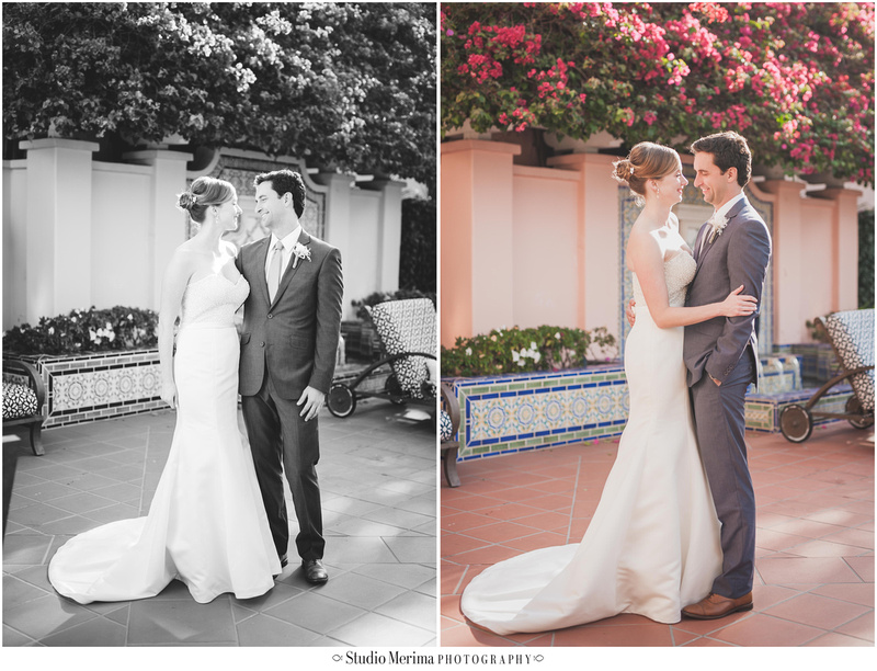 la jolla wedding photography, la valencia hotel wedding photoraphy, la valencia hotel first look