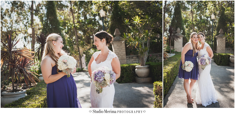 """""""Balboa Park Vintage Wedding"""" """"Alcazar Garden Bridal Party Photography"""""""