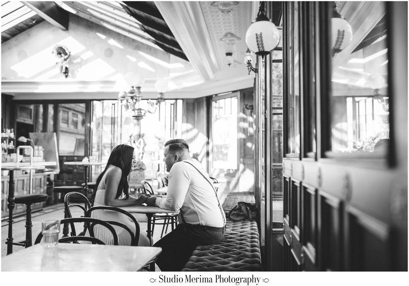 san diego engagement, polite provisions engagement photography, retro engagement photography, retro couple