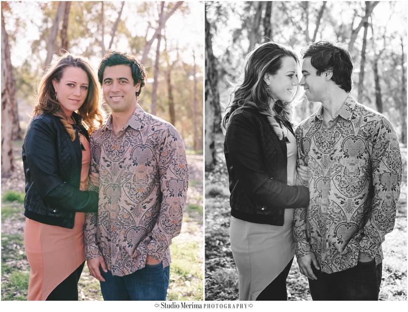 eucalyptus trees engagement, san diego couples photography, morley field engagement photography