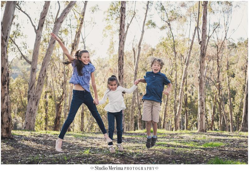san diego kids photographer, fun creative photography, jumping photo