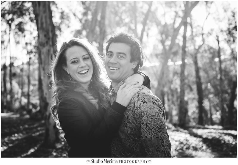 eucalyptus trees engagement, romantic san diego photography, morley field engagement photography