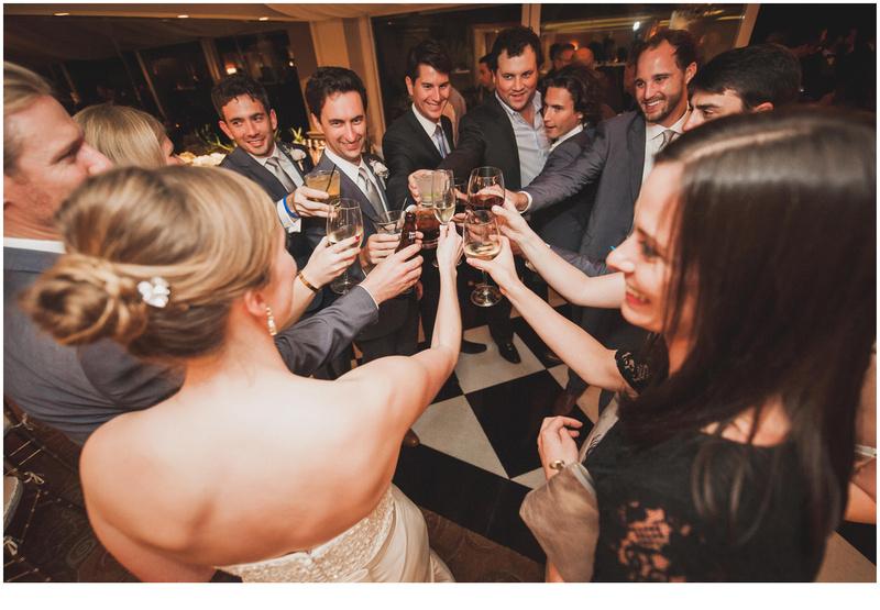 la valencia hotel wedding, la valencia hotel reception, la jolla wedding photography, wedding party photography
