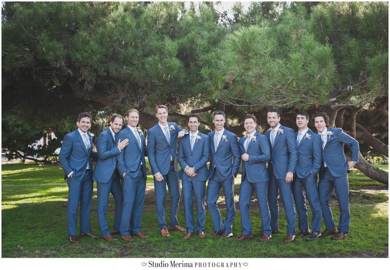 la jolla wedding party photography, la jolla bridal party photography