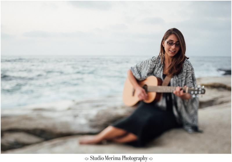 'windansea photography', 'san diego graduation photos', 'san diego photographer', la jolla photographer', 'portraits with guitar', 'music therapist headshots', 'beach headshots', 'tilt-shift photography'