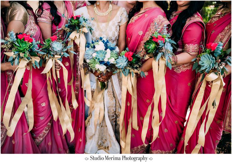 """indian wedding"", ""filipino wedding"", ""san diego wedding photographer"", ""studio merima"", ""rancho bernardo inn wedding"", ""succulet bouquets"", ""gold ribbon bouquet"""