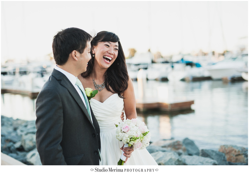 coronado wedding photography, marina wedding photography, boat wedding photography