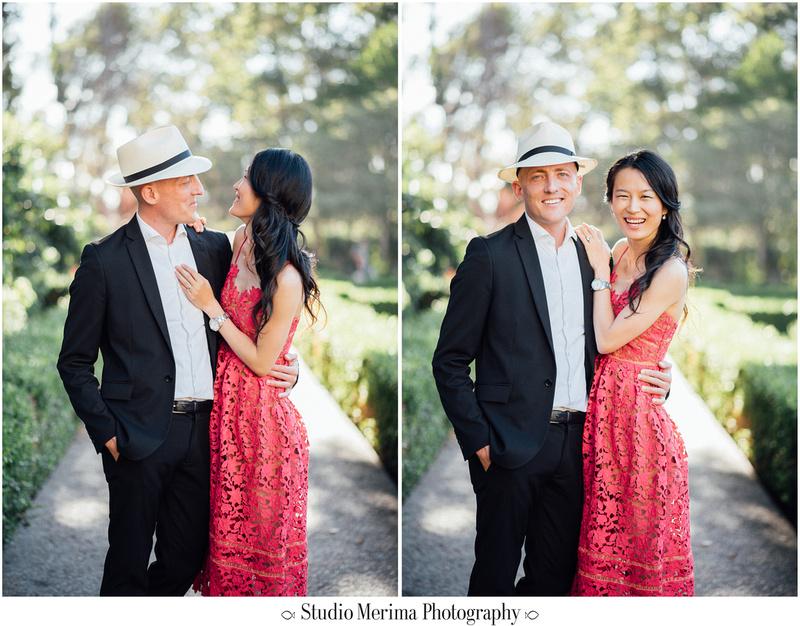 """balboa park engagement photography"", ""red dress engagement photography"", ""stylish engagement photography"", ""san diego engagement photography"""