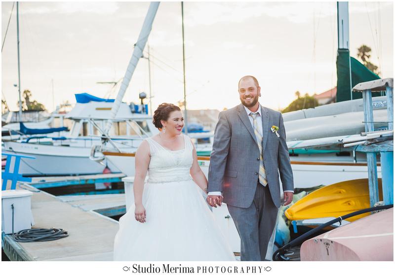 Coronado Centennial Park Wedding, Bahama Village Clubhouse Wedding