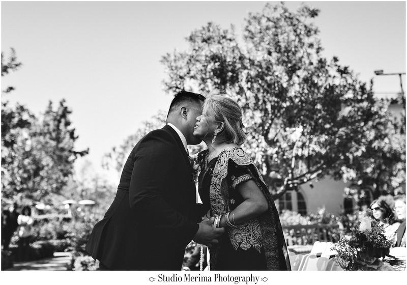 """indian wedding"", ""filipino wedding"", ""san diego wedding photographer"", ""studio merima"", ""rancho bernardo inn wedding"", ""mother son emotional photo"""