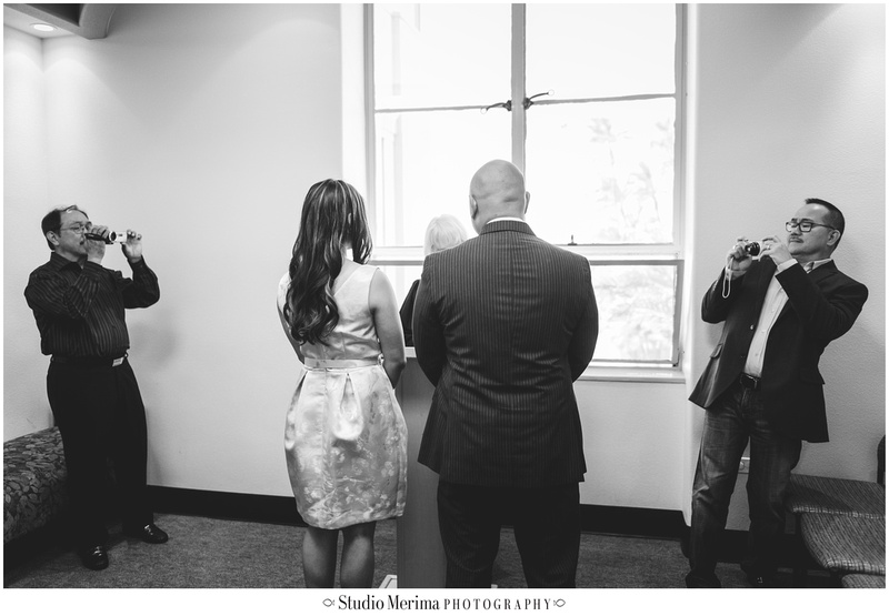 san diego wedding photography, san diego elopement, san diego small wedding, san diego courthouse wedding, dad's love