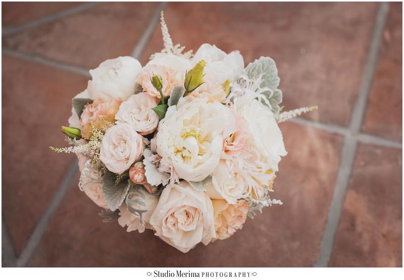 peonie and rose wedding bouquet, pink wedding bouquet