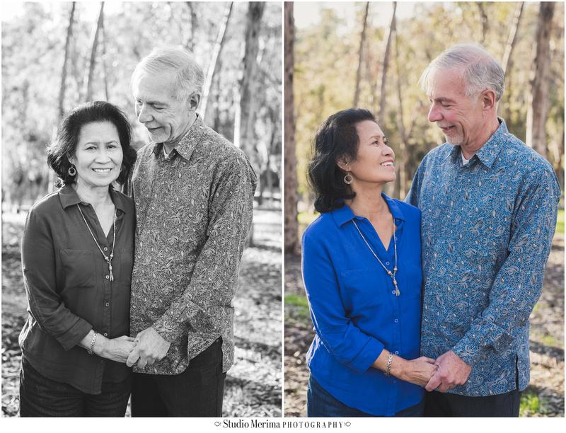 grandparents portrait, older couple portrait san diego