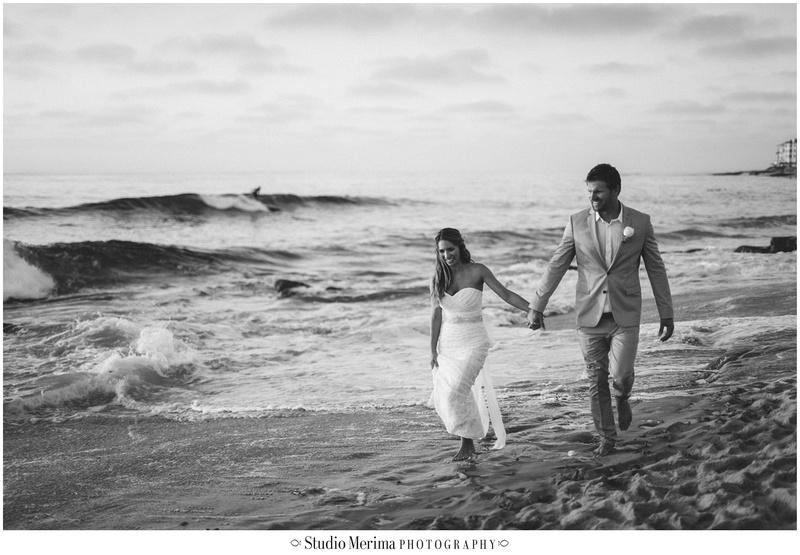 la jolla wedding photography, windansea small wedding, windansea wedding portraits, beach wedding photography, san diego beach wedding photography