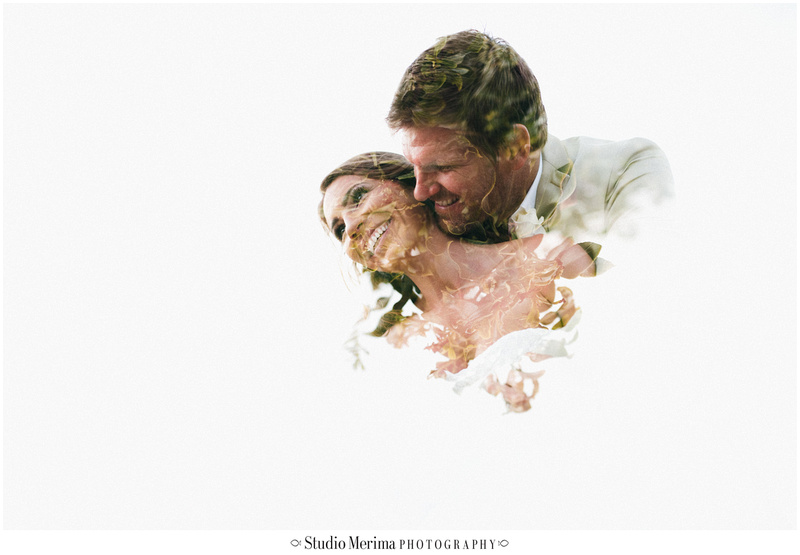 artistic wedding portraits, double exposure photography, san diego romantic wedding