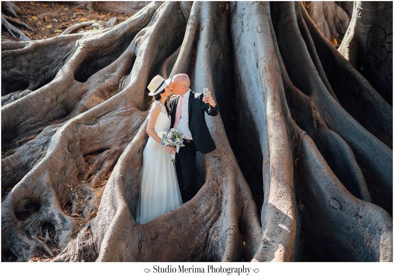 """balboa park wedding photography"", ""balboa park elopement"", ""flirty wedding photos"", ""wedding selfie"""