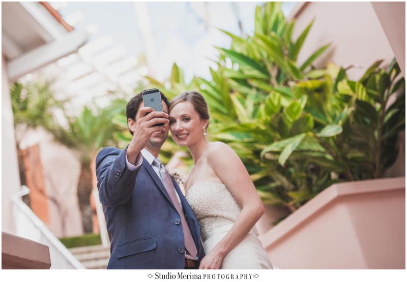 la jolla wedding photography, la valencia hotel wedding photoraphy, la valencia hotel first look, wedding selfie