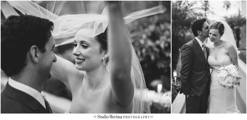la valencia hotel wedding, la jolla wedding, la valencia hotel wedding ceremony, creative veil photography