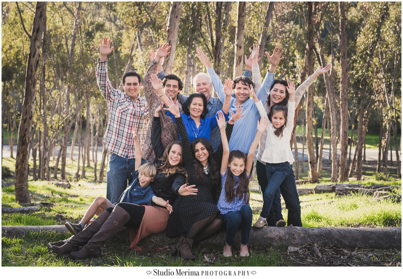extended family photography, san diego family photographer, morley field, fun creative family photographer