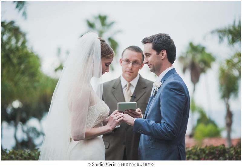 la valencia hotel wedding, la jolla wedding, la valencia hotel wedding ceremony