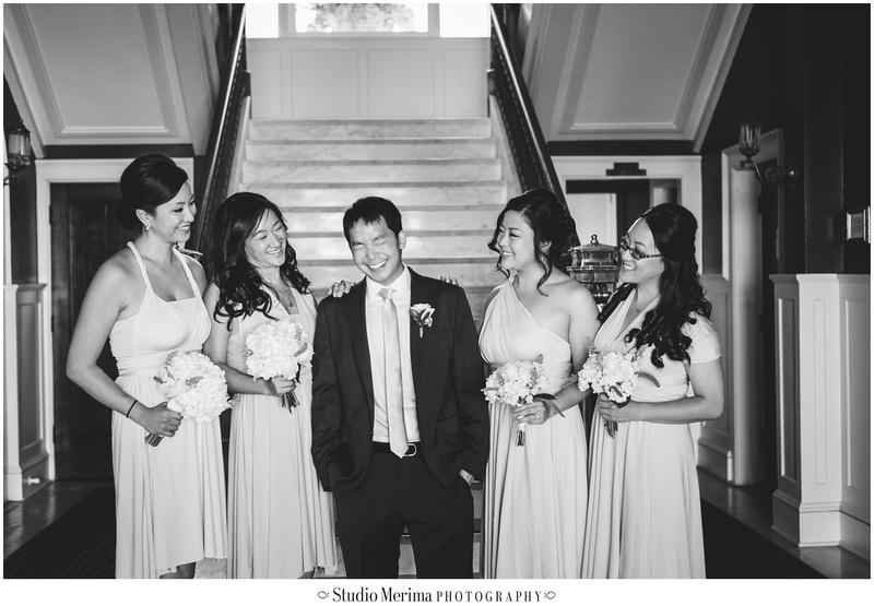 glorietta bay inn wedding, glorietta bay inn music room, glorietta bay inn bridal party, coronado wedding