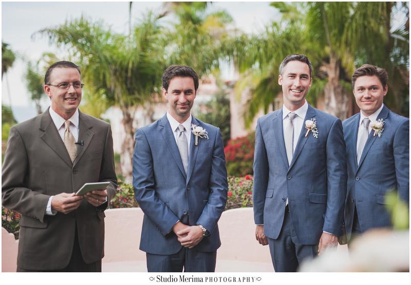 la valencia hotel wedding, la jolla wedding, la valencia hotel wedding ceremony, seeing the bride for the first time