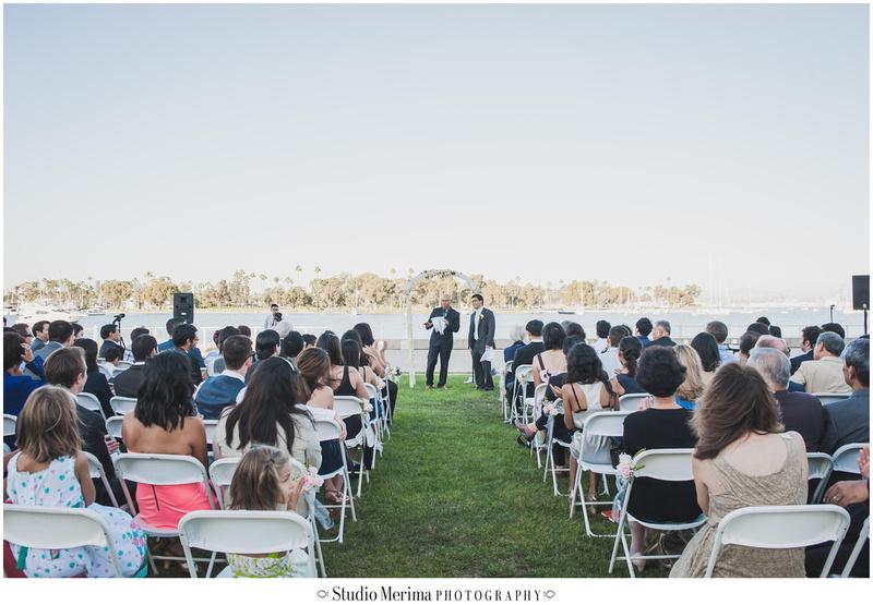coronado community center wedding, coronado wedding