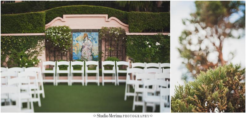 la jolla wedding, la valencia hotel wedding, tilt-shift wedding photography