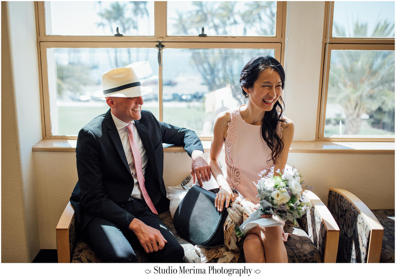 """san diego courthouse elopement"", ""san diego small wedding"""