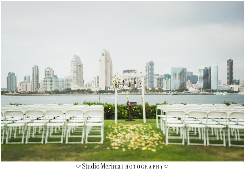 Coronado Centennial Park Wedding, Bahama Village Clubhouse Wedding