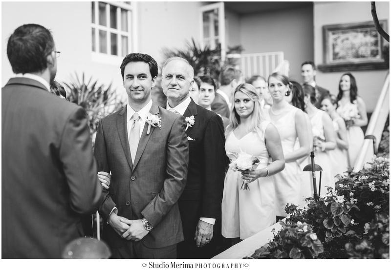 la valencia hotel wedding, la jolla wedding, la valencia hotel wedding ceremony, happy groom